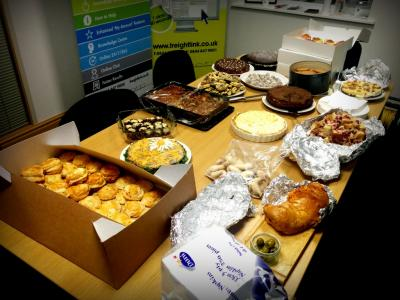 Freightlink bake off table 2016