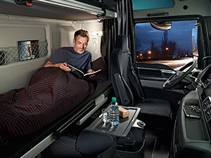 driver bunk bed
