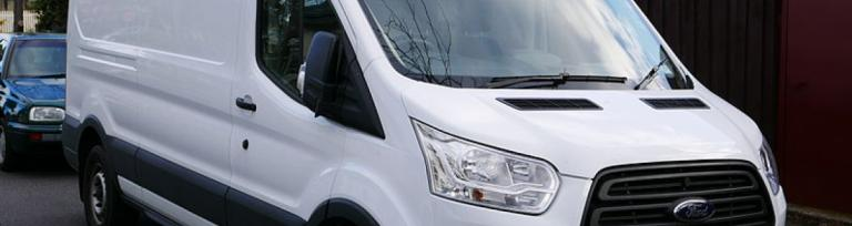 a ford transit van for a van drivers guide