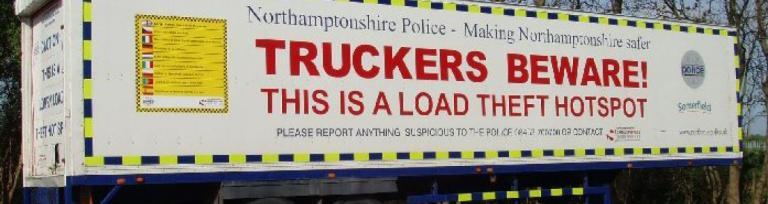 HGV load theft
