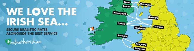 We love the Irish sea
